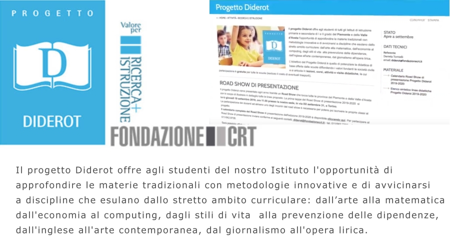Progetto Diderot home page